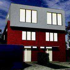 roik_architekt_hamburg_doppelhaus_wohnhaus_energiesparhaus_nachtansicht_visualisierung