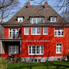 roik_architekt_hamburg_planung_entwurf_fassadensanierung_farbkonzept_villa_gartenansicht