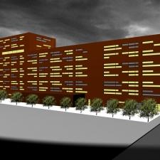 roik_architekt_hamburg_buerogebaude_wettbewerb_hafencity_perspektive_nordfassade