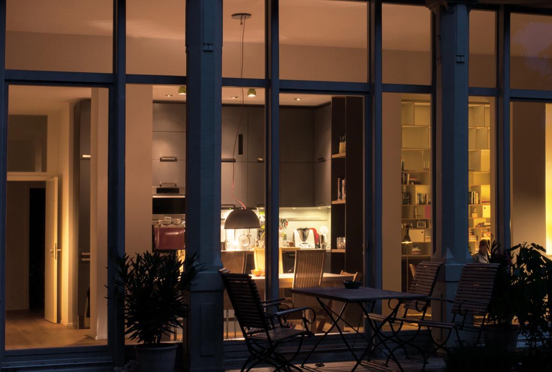 Einblick in die Wohnung im Denkmal von Roik Architekt Hamburg