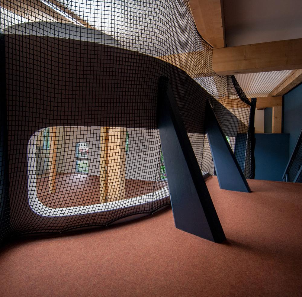 Rückzugsebene für Kinder in KITA von Roik Architekt Hamburg