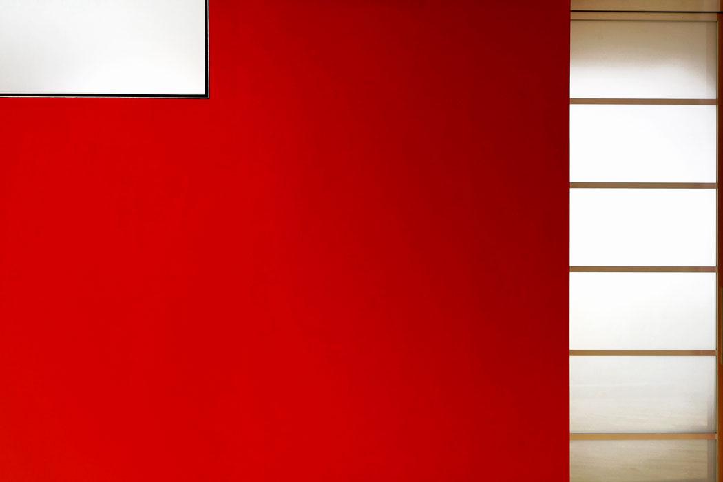 Detail Red-Box mit Verglasung von Roik Architekt Hamburg