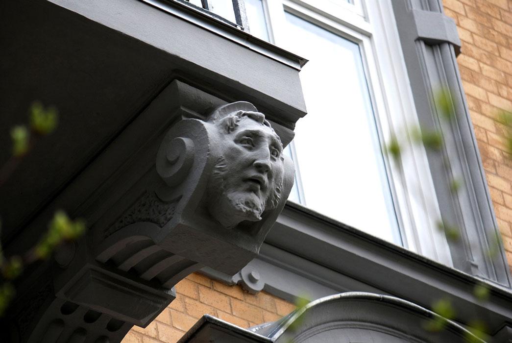 Detail Sanierung durch Roik Architekt Hamburg