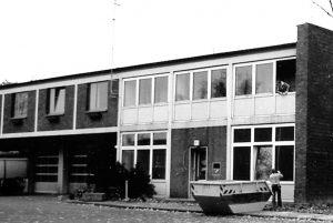 Fassade Feuerwache Hamburg vor Umbau