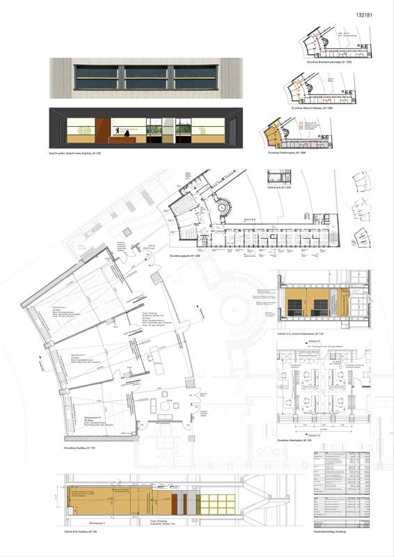 Wettbewerbsplan Architektenkammer Berlin von Roik Architekt Hamburg