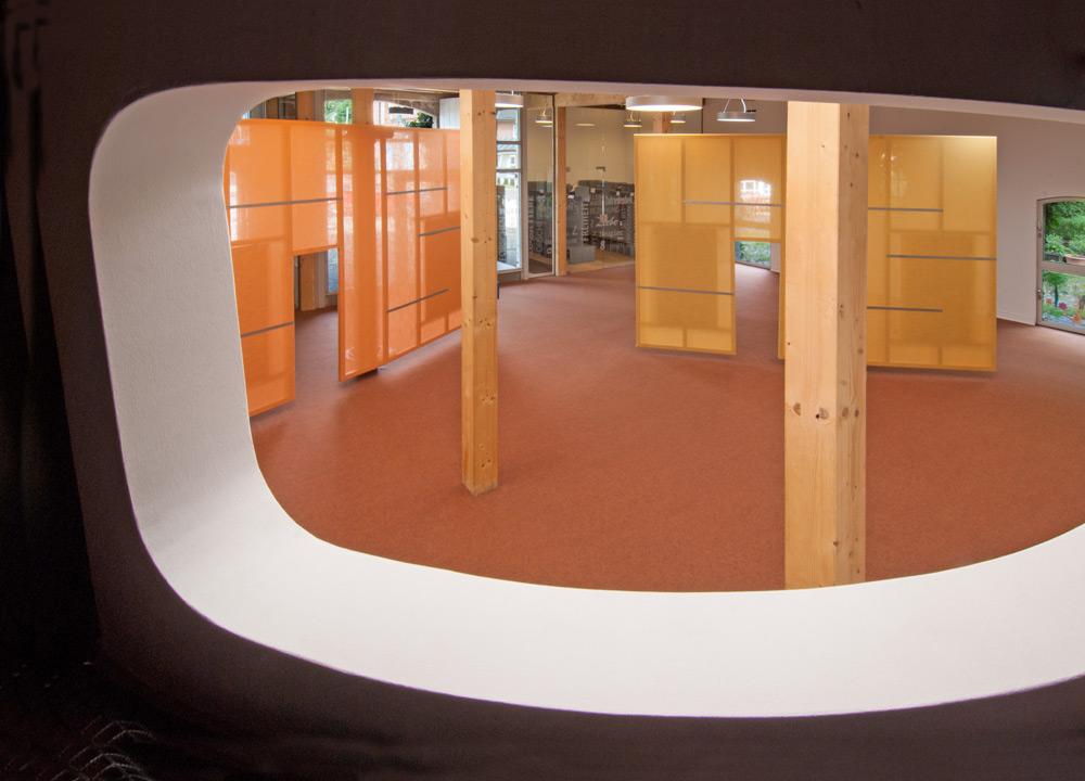 KITA von Roik Architekt Hamburg mit Raumteilern