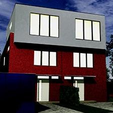 roik_architekt_hamburg_doppelhaus_wohnhaus_energiesparhaus_nachtansicht